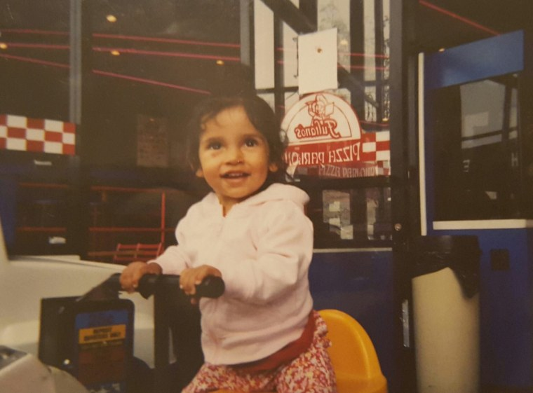 """""""This is my Julia,"""" wrote Cheryl Salgado. """"She would have turned sweet 16 on January 17, 2018. We lost her when she was 2. She was born with dilated cardiomyopathy. I miss her every day of my life."""""""