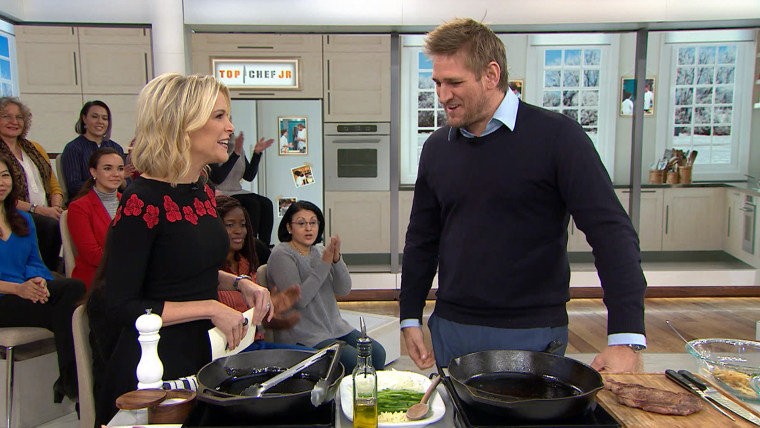 Curtis Stone cooks on Megyn Kelly TODAY