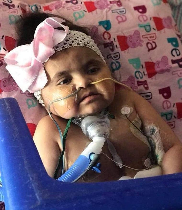 """""""My daughter was diagnosed with hypertrophic cardiomyopathy the day after she was born, had her heart transplant in September 2013 at 5 months old, went into rejection four years later and has been inpatient for seven months now,"""" said Sara Lowe."""