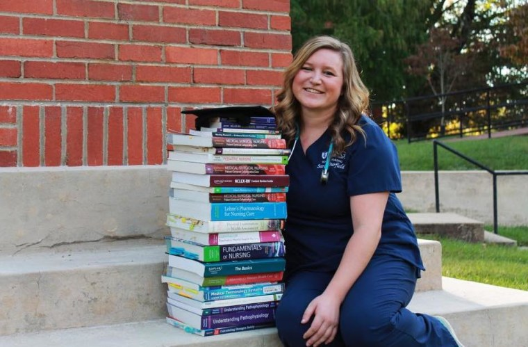"""""""My name is Sarah Jane and I was born with transposition of the great vessels,"""" wrote Sarah Jane Burfield. """"I am now 21 and have just graduated from nursing school. I am so thankful for the awareness for CHD children."""""""