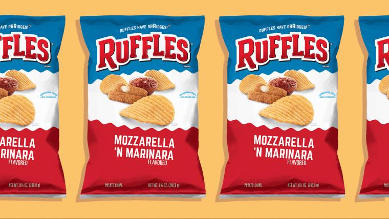 Ruffles Mozzarella 'n Marinara chips photo