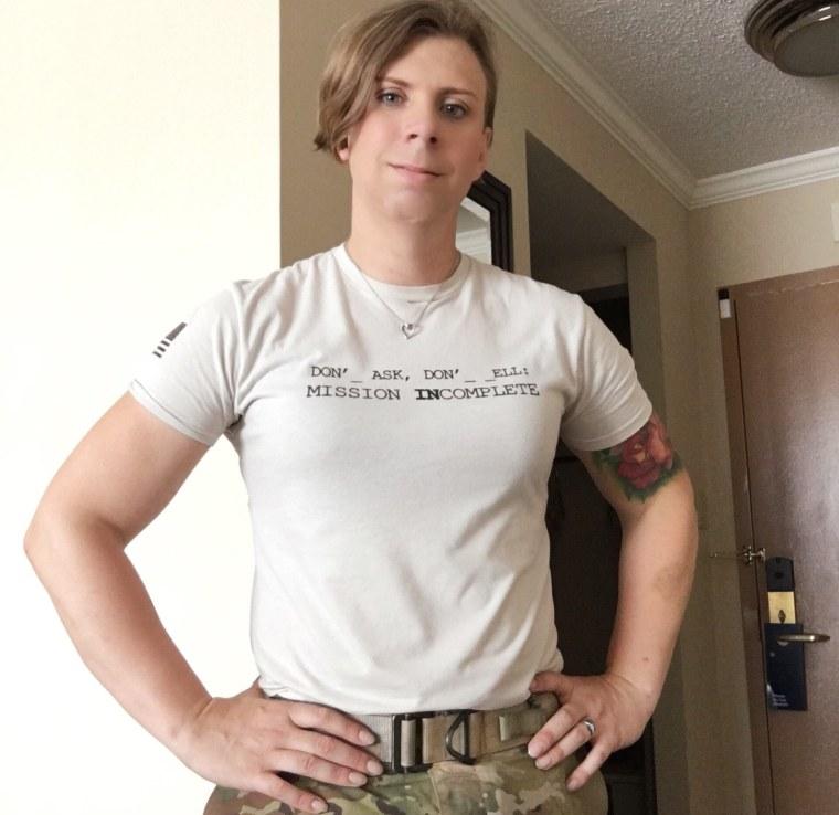 U.S. Army Staff Sergeant Patricia King