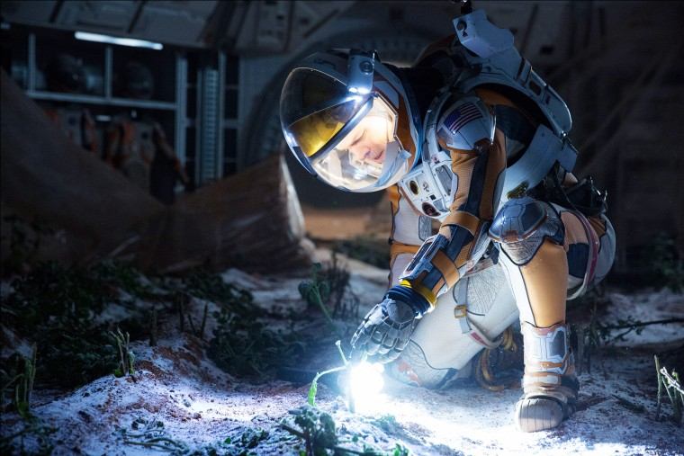 THE MARTIAN, Matt Damon, 2015. ph: Giles Keyte / TM & copyright (C) 20th Century Fox Film Corp. All
