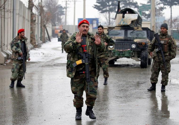 Image: Kabul attack