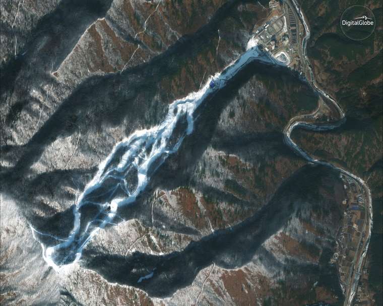 Image: Jeongseon Alpine Centre