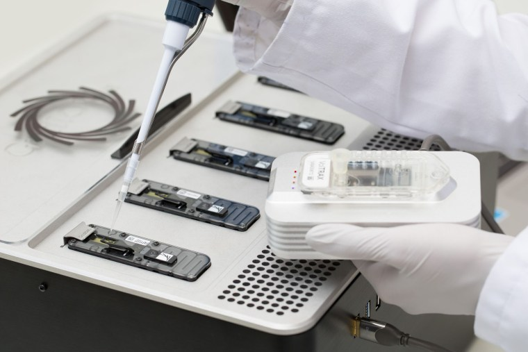 Image: MinION is a portable real-time device for DNA and RNA sequencing