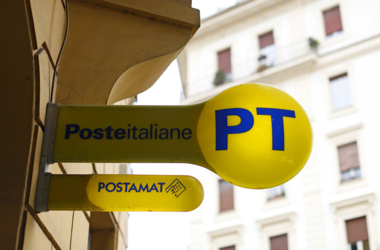 Image: A post office in Rome