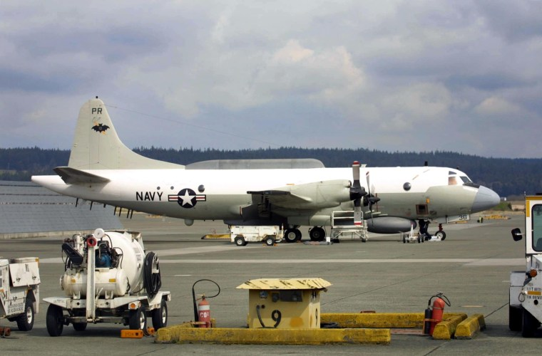Image: EP-3E Aries II reconnaissance airplane