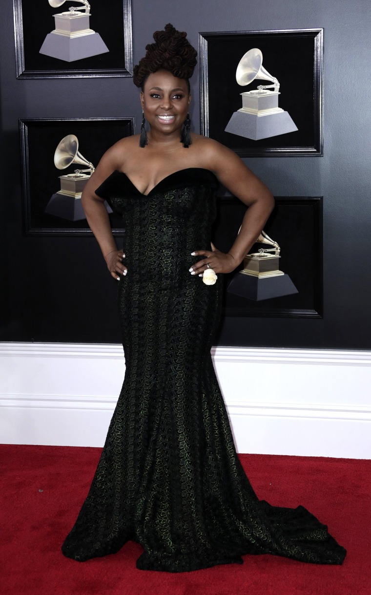 Image: Arrivals - 60th Annual Grammy Awards