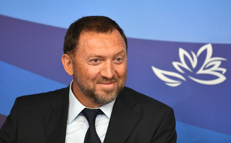 Aluminum magnate Oleg Deripaska, a figure in the Russia investigation over his ties to former Trump campaign chairman Paul Manafort, is on the Treasury Department's list of Russians who've benefited from Vladimir Putin's time in power.