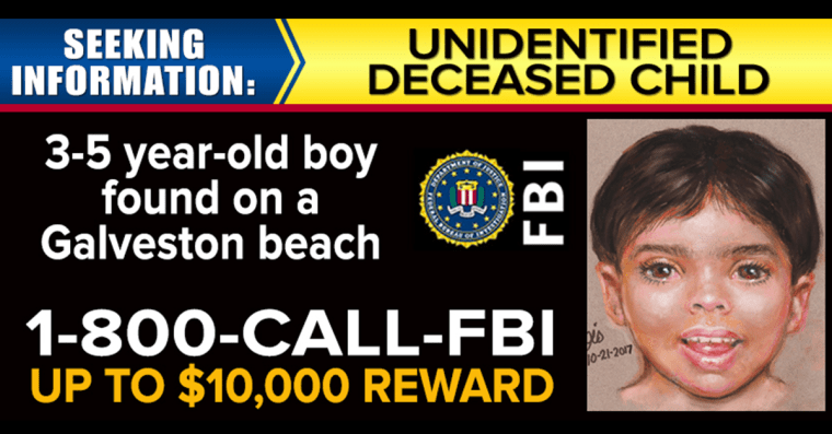 Investigators release new image of 'Little Jacob', the young boy who
