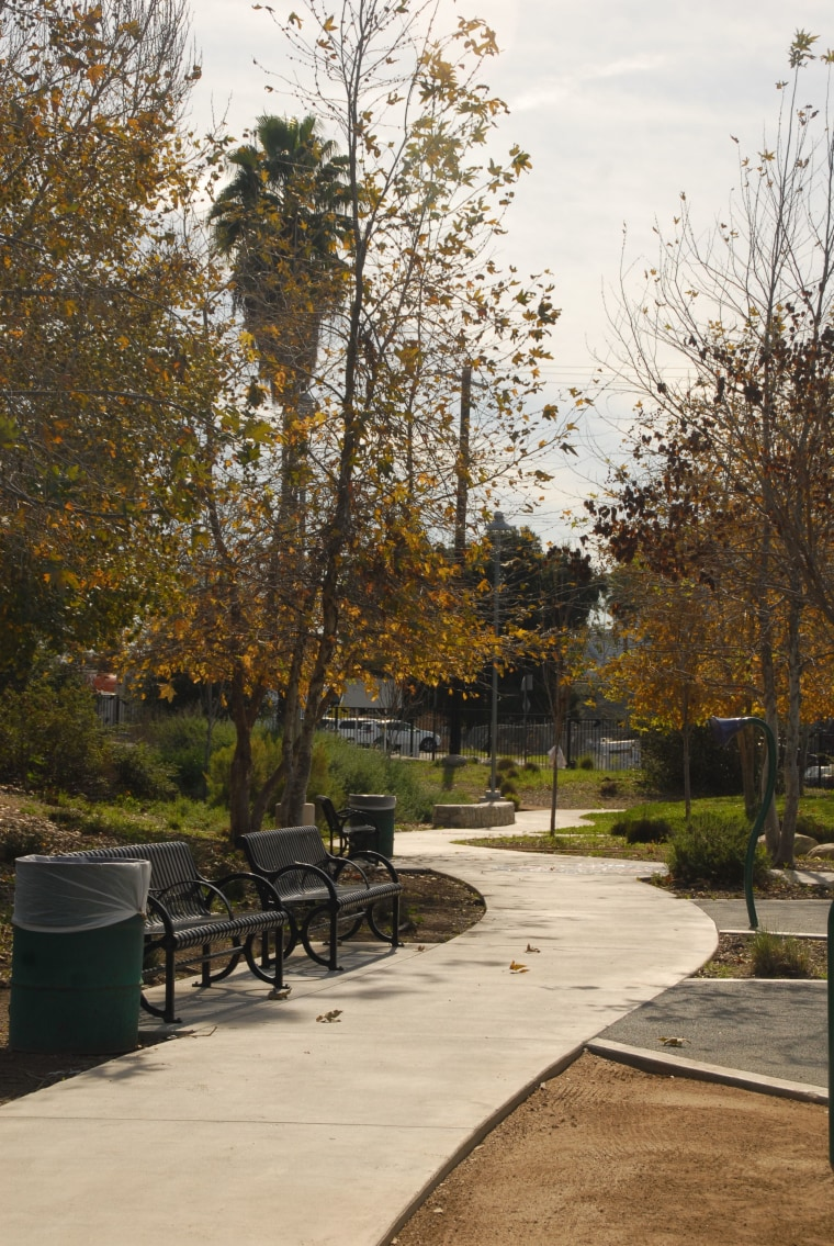 The establishment of El Sereno Arroyo Playground in Los Angeles was spearheaded by a local resident, Val Marquez, 67, who was inspired to do so by his own experience of having an open space to use while he was growing up.