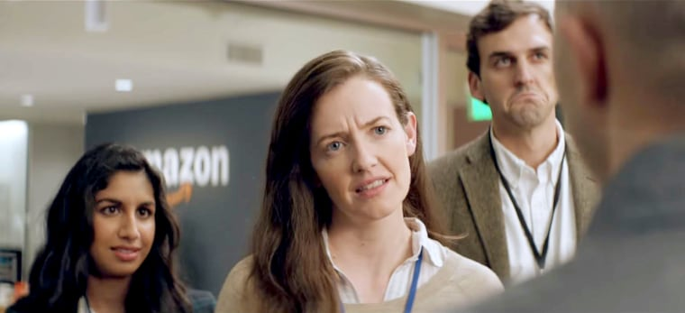 Image: Sounds like Alexa might have lost her voice, but who could possibly replace her? Amazon teases it's ad for the upcoming 2018 Super Bowl.