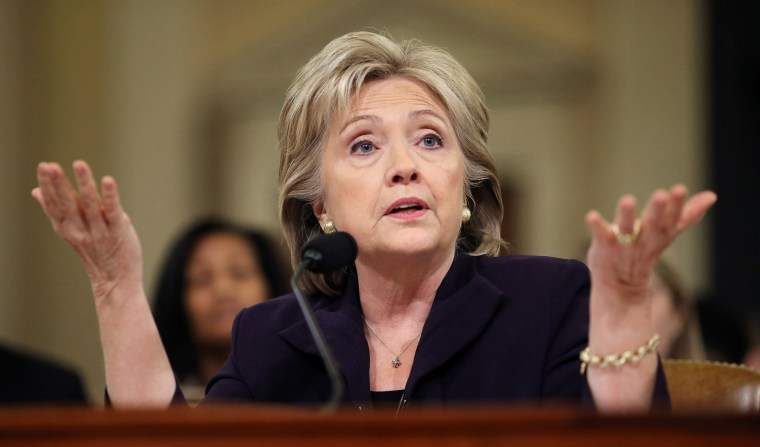 Image: Hillary Clinton testifies before the House Select Committee on Benghazi