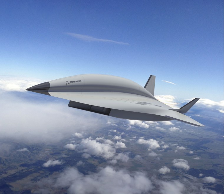 Image: Boeing hypersonic plane