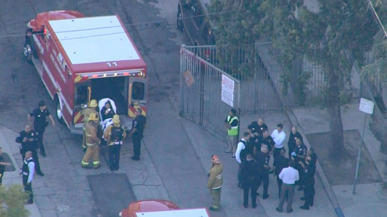 Image: Shots fired at Southern California middle school