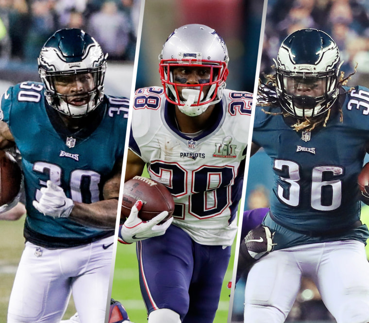 Image: Super Bowl running backs