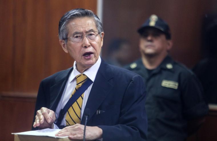 Image: Alberto Fujimori