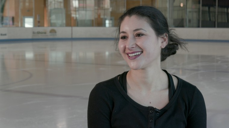 Image: Skater Chloe Katz competed in the U.S. national championships.