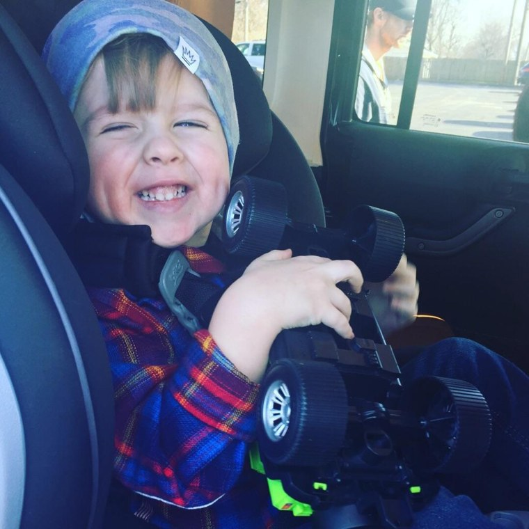 Even though he was born at 31 weeks and had 15 surgeries, Remy Murphy is a happy, healthy 3-year-old.