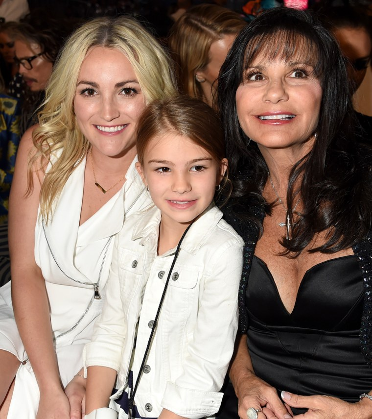 Jamie Lynn Spears, Maddie Briann Aldridge, and Lynne Spears