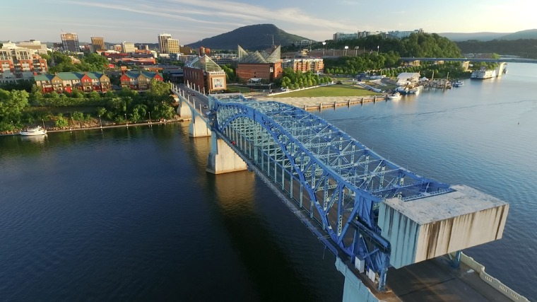 Chattanooga, Tennessee, one of the top US places to visit