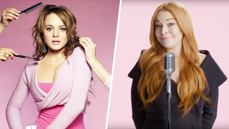 MEAN GIRLS, Lindsay Lohan, 2004. / Lindsay Lohan reading her 8 favorite line from Mean Girls.