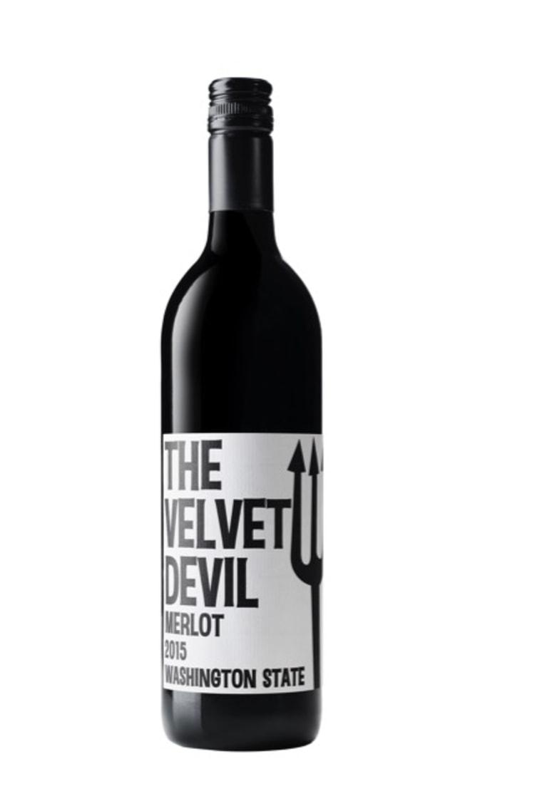 """2015 Charles Smith Wines """"Velvet Devil"""" Merlot"""