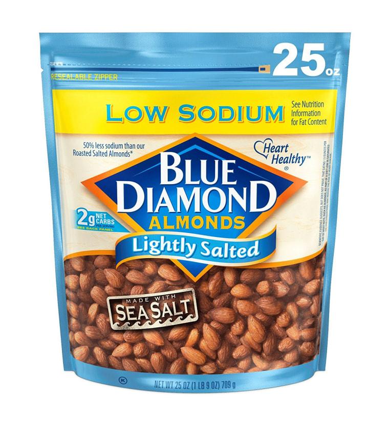 Blue Diamond Almonds Low-Sodium Lightly Salted