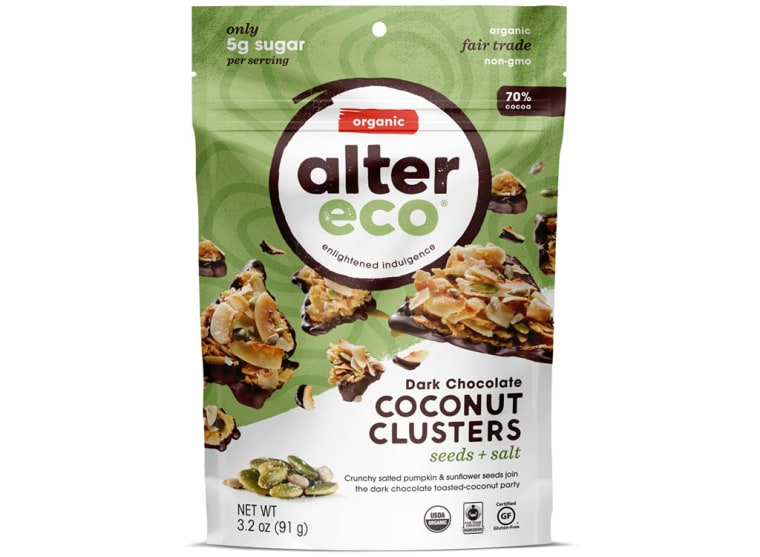 Alter Eco Seeds & Salt Dark Chocolate Coconut Clusters