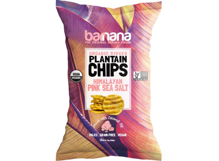Barnana Himalayan Pink Sea Salt Organic Plantain Chips