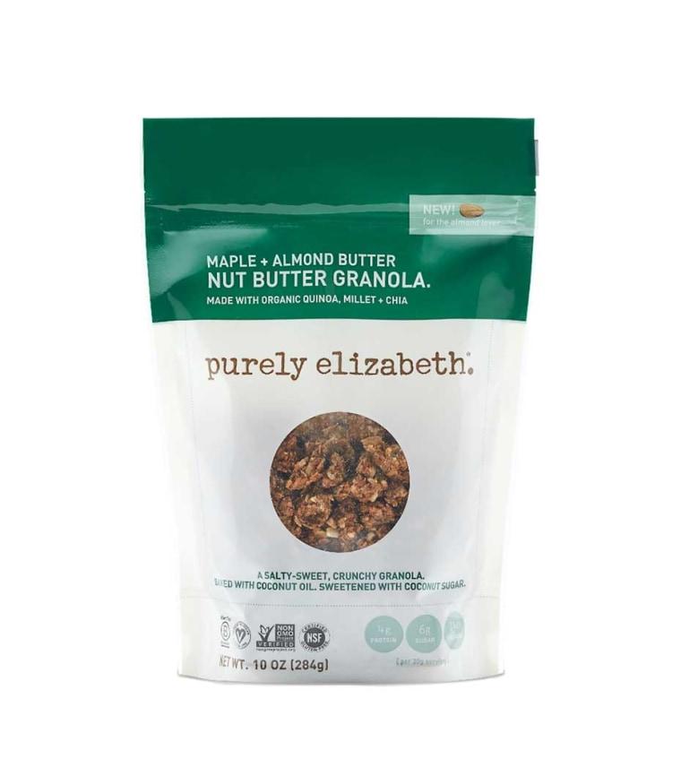 Purely Elizabeth Maple + Almond Butter Granola