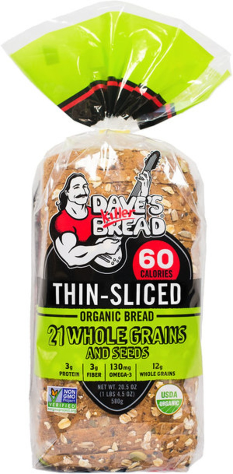Dave's Killer Bread Thin-Sliced Organic 21 Whole Grains and Seeds