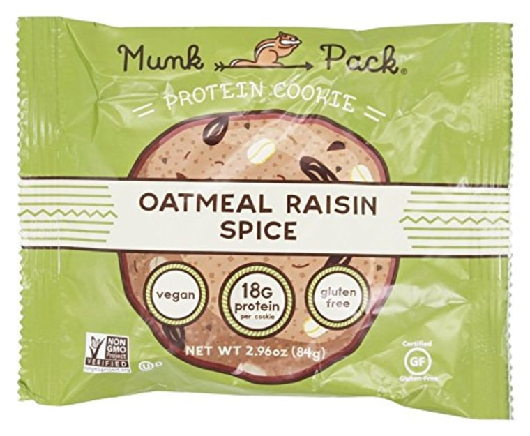 Munk Pack Oatmeal Raisin Spice Protein Cookies