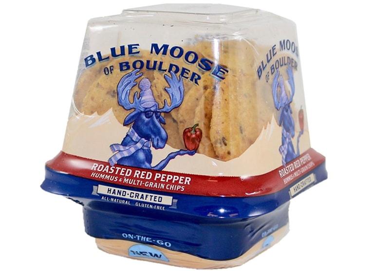Blue Moose of Boulder Roasted Red Pepper On-the-Go Hummus