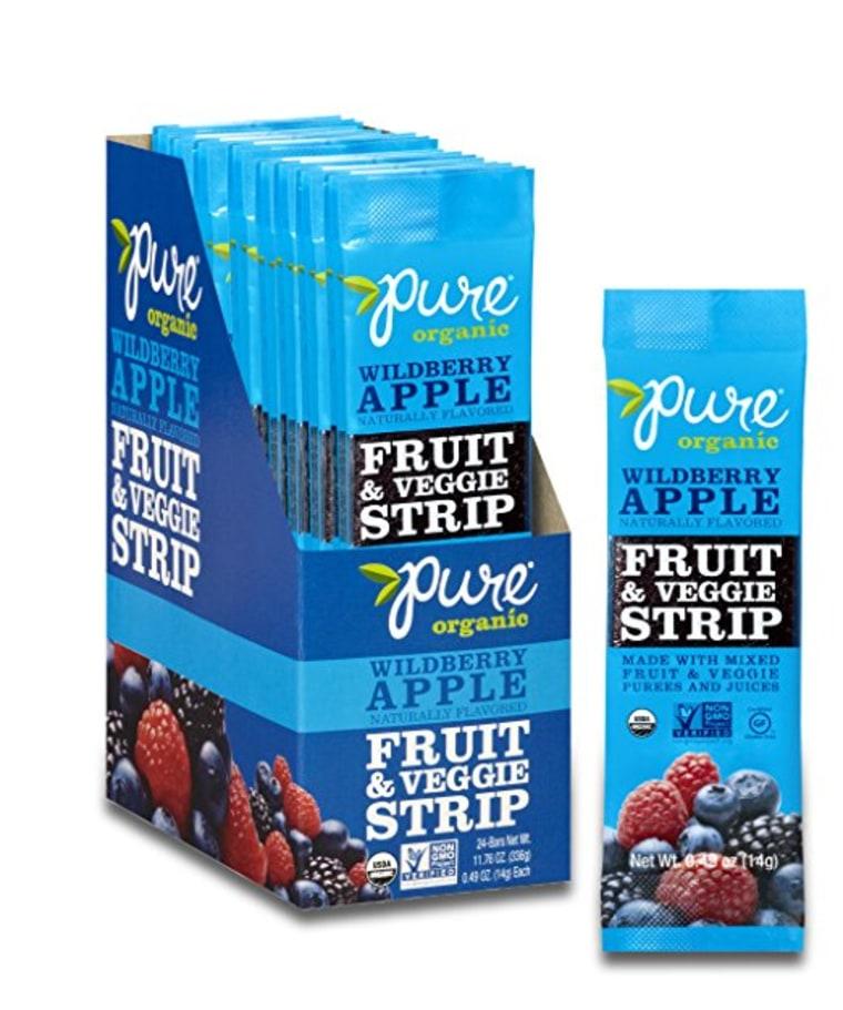 Pure Organic Wildberry Apple Fruit &Veggie Strips