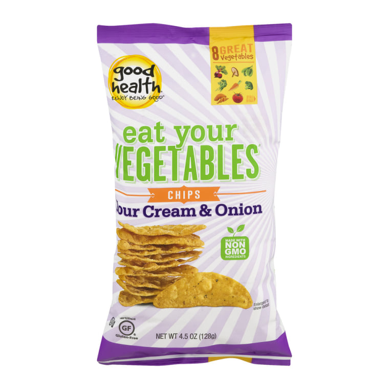 Good Health Eat Your Vegetables Sour Cream & Onion Chips