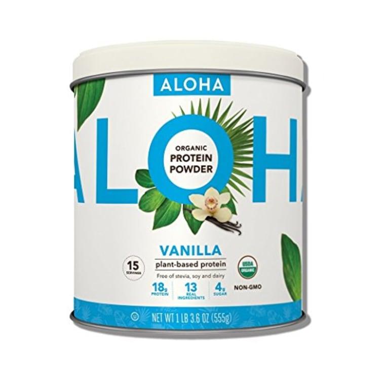 ALOHA Organic Plant Based Vanilla Protein Powder