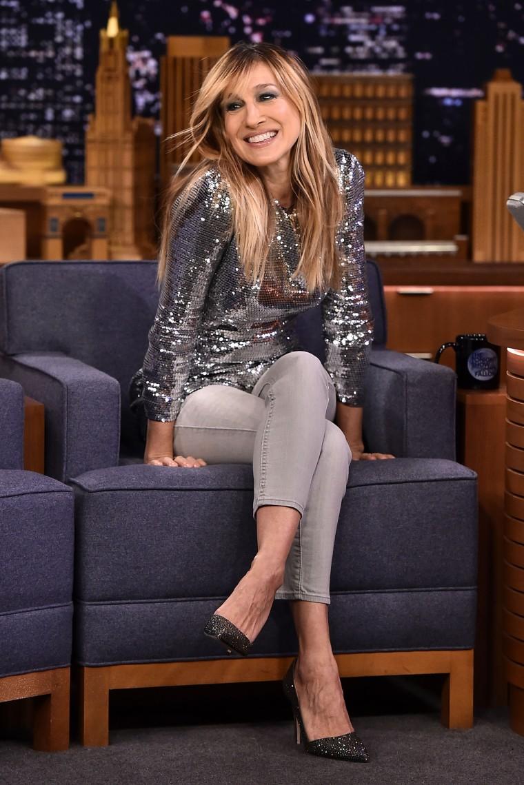 "Sarah Jessica Parker Visits ""The Tonight Show Starring Jimmy Fallon"""