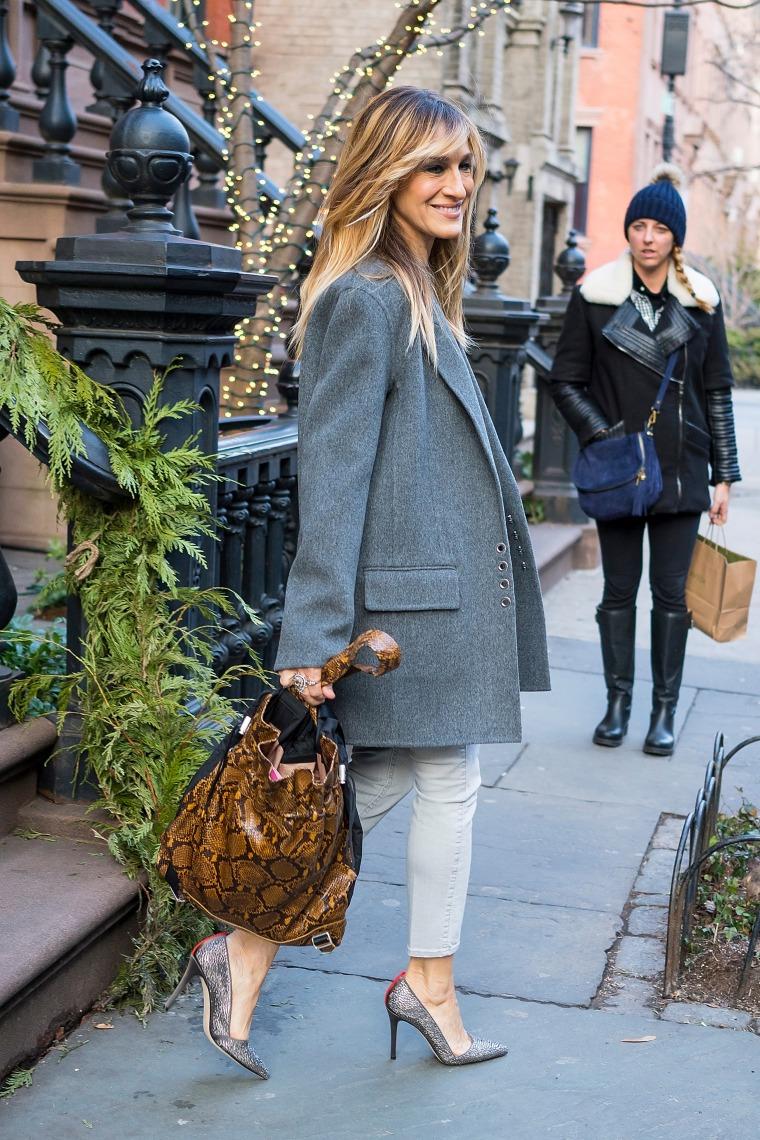 Celebrity Sightings in New York City - February 6, 2018