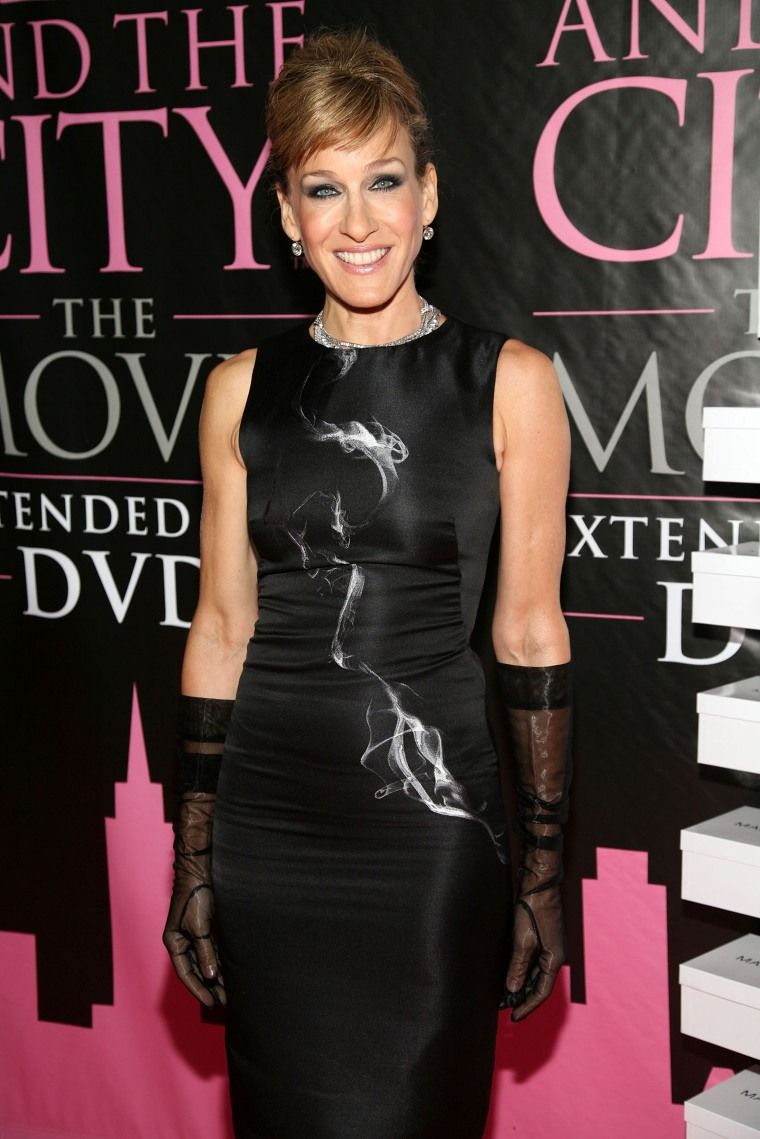 """DVD Launch Celebration For """"Sex And The City: The Movie"""" - Arrivals"""