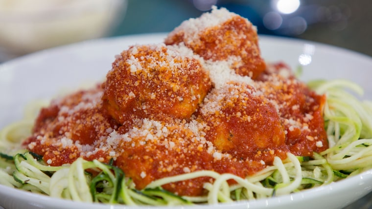 Joy Bauer and Jean Chatzky's Chicken Parmesan with Pasta