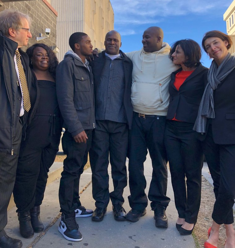 Man exonerated after 38 years