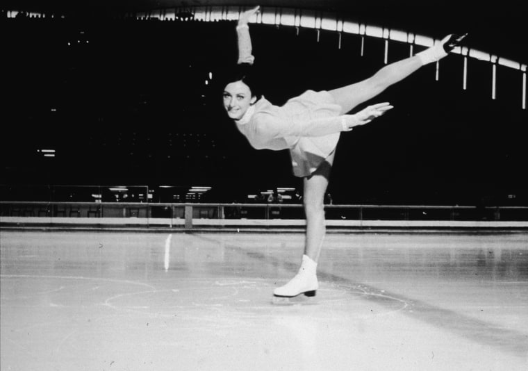 Peggy Fleming At 1968 Winter Olympics