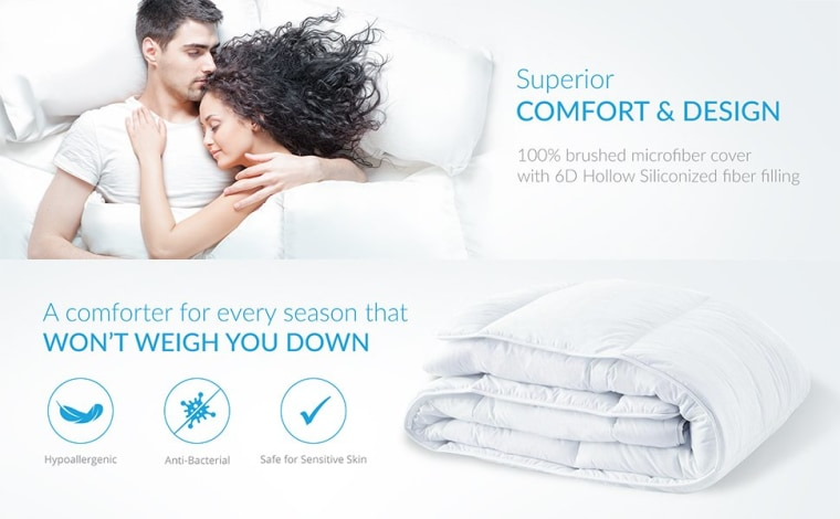 Equinox comforter label