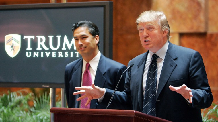 Image: Donald Trump Announces Trump University