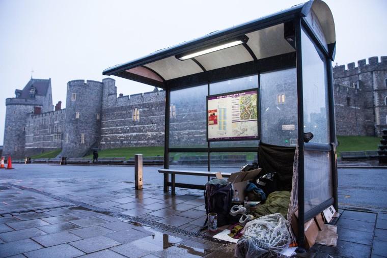 Image: Homeless in Windsor