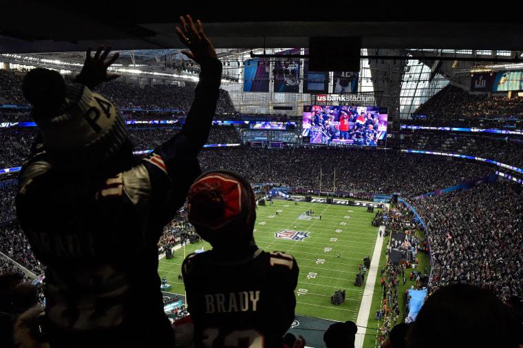 Image: Super Bowl LII - Philadelphia Eagles v New England Patriots