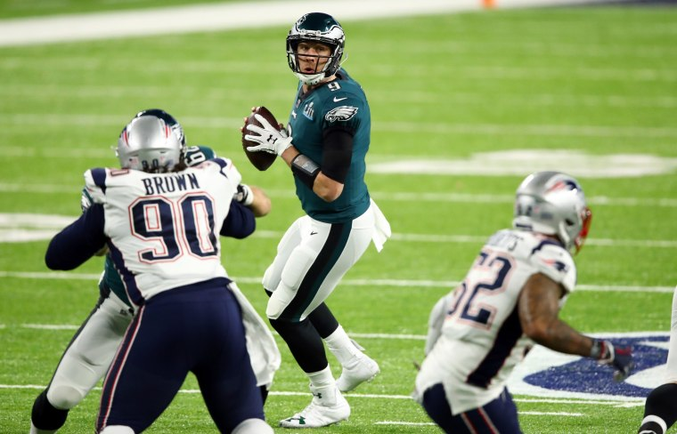 Image: Super Bowl LII - Philadelphia Eagles v New England Patriots