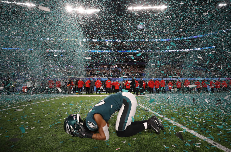 Image: Philadelphia Eagles v New England Patriots - Super Bowl LII